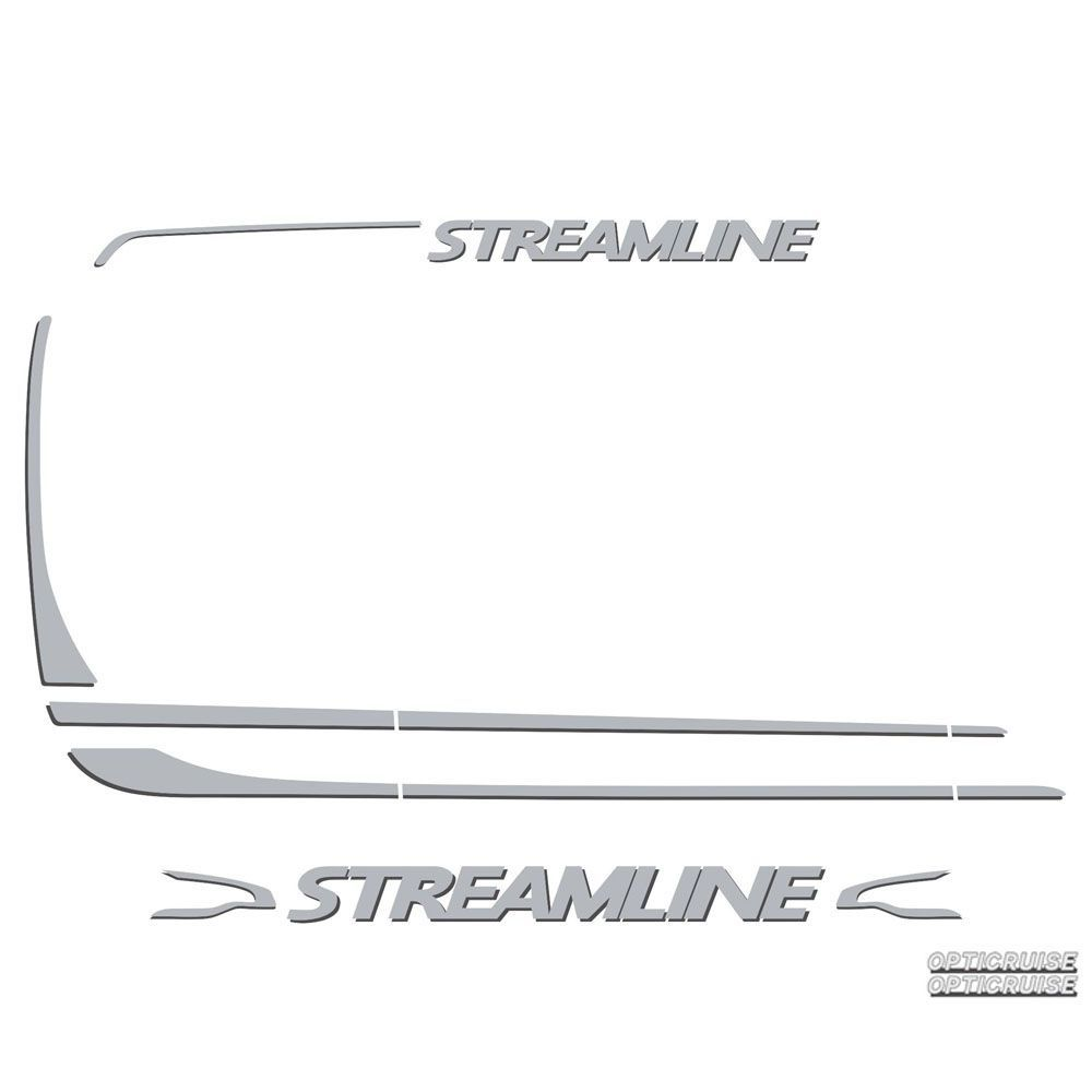 Conjunto Faixa Adesiva Compatível com o Caminhão Scania Streamline