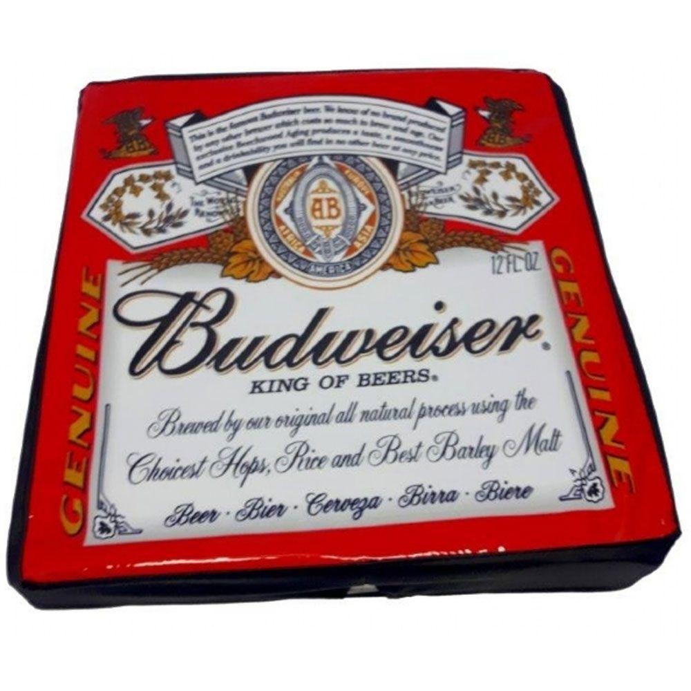 Capa para Geladeira Budweiser Vermelha