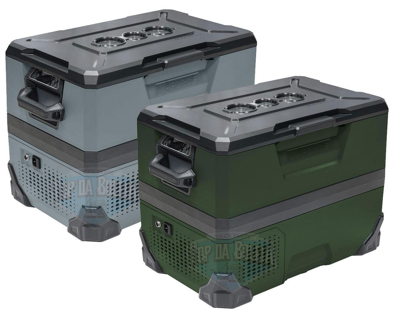 Geladeira X-Force Maxiclima Portátil 38 Litros Bivolt Verde