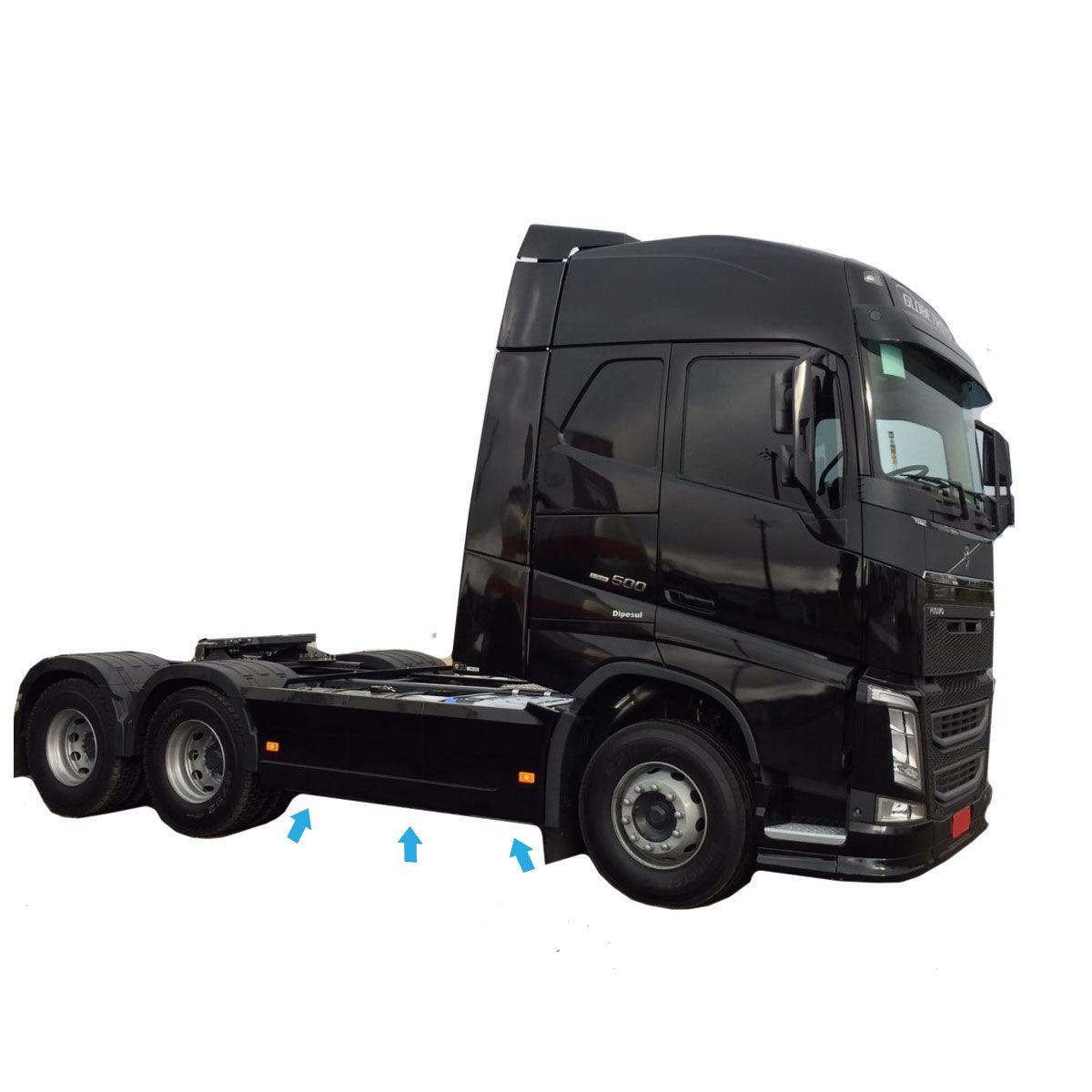 Defletor Carenagem Lateral Caminhão Volvo NEW FH 2015 2016 2017 2018