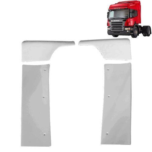 Defletor de Ar Cegonheiro Compatível com o Caminhão Scania S4 S5 Cabine P sem filtro