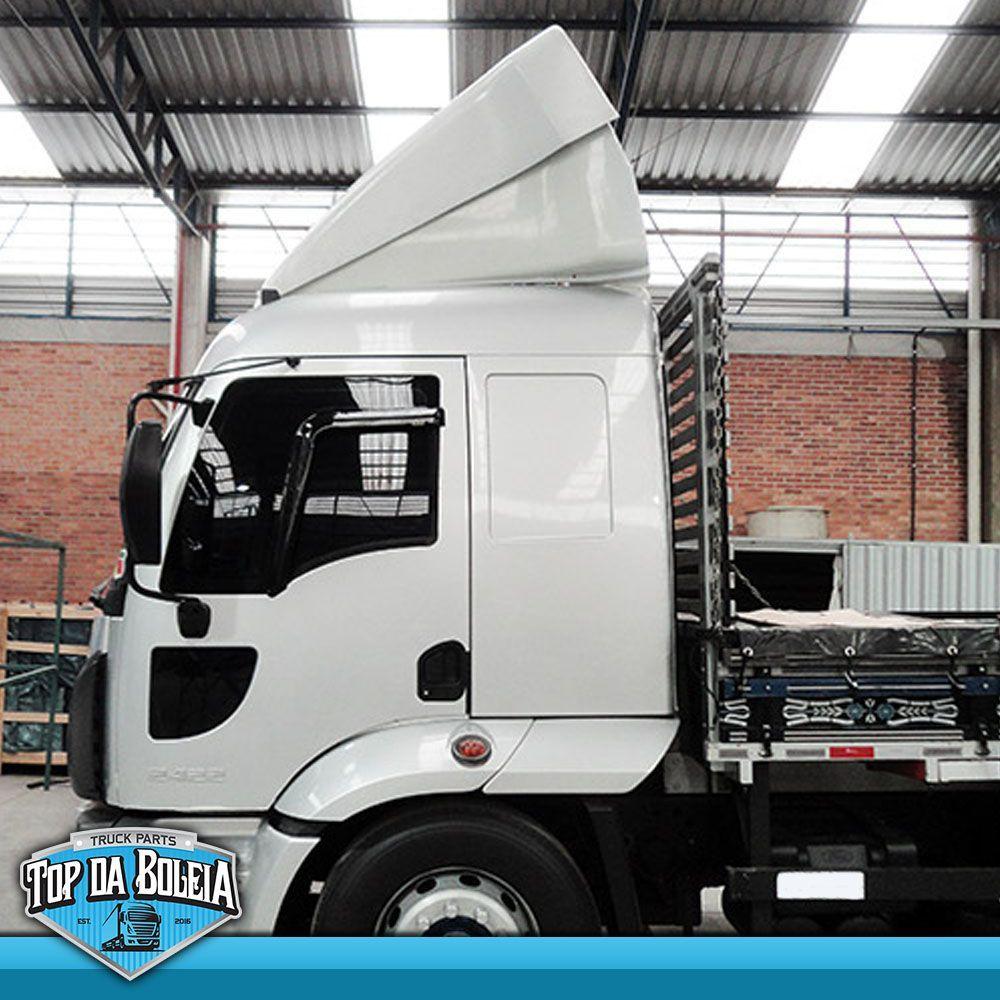 Defletor de Ar Ford Cargo 2011 Cabine Alta Parcial