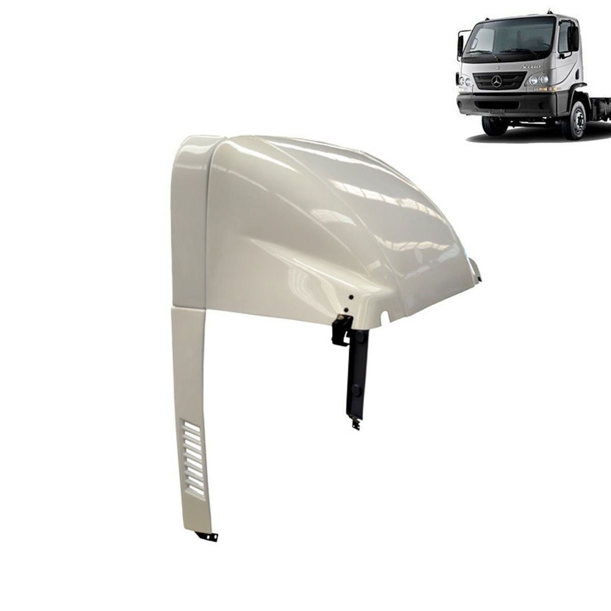 Defletor de Ar Mercedes-Benz Accelo Filtro Baixo Completo