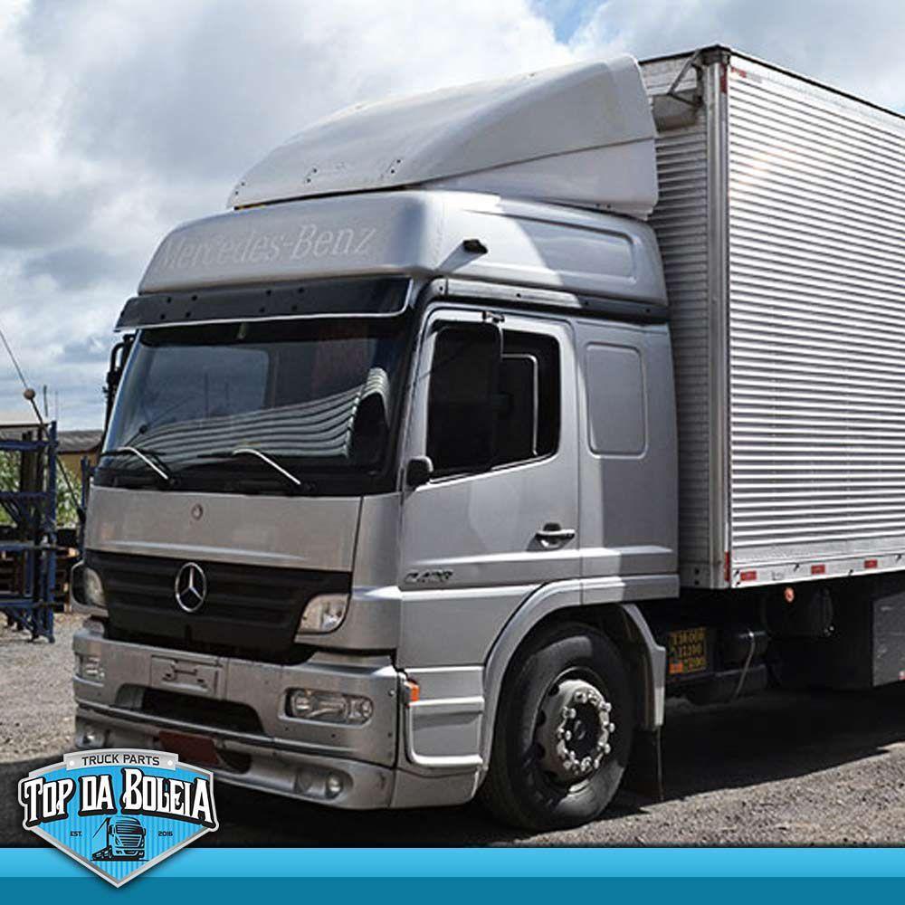 Defletor de Ar Mercedes-Benz Atego Cabine Alta / Leito Parcial