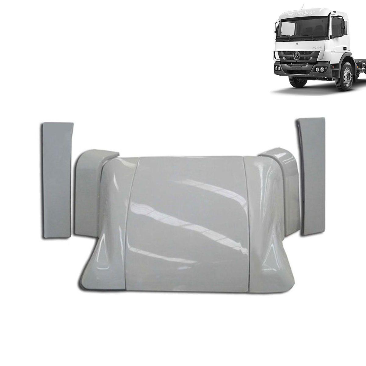 Defletor de Ar Mercedes-Benz Atego Cabine Simples Completo