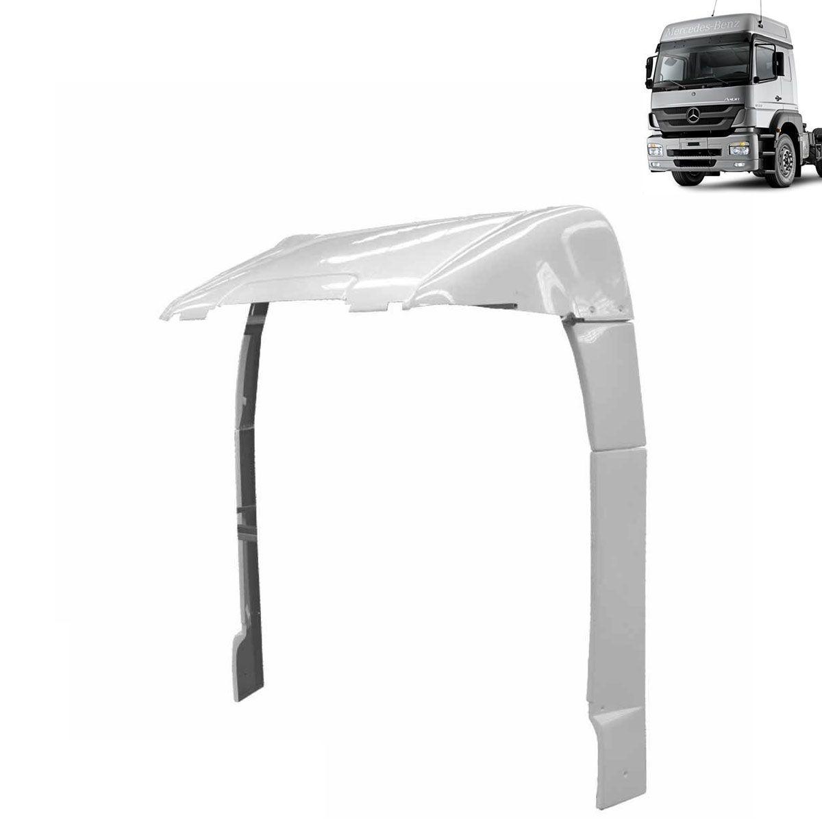 Defletor de Ar para Mercedes Benz Axor Cabine Alta Completo
