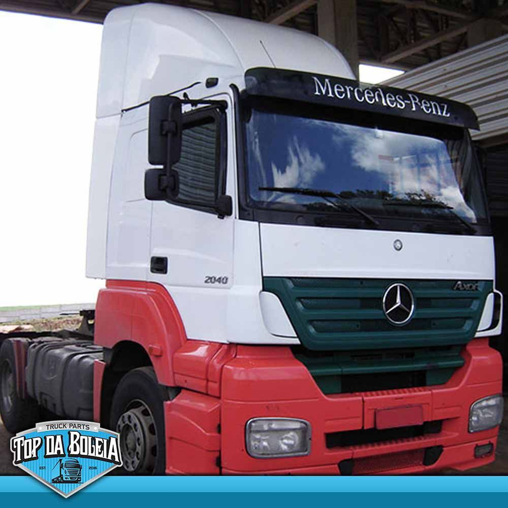 Defletor de Ar para Mercedes Benz  Axor Cabine Baixa Leito Completo Fixo