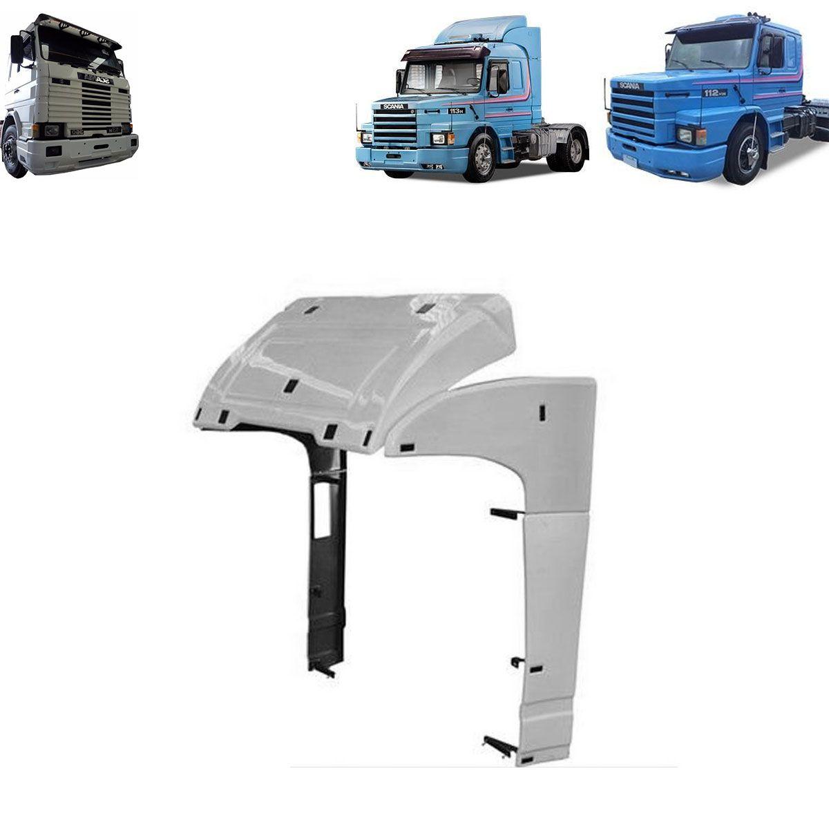 Defletor de Ar Compatível com o Caminhão Scania 112 e 113 Cabines R e T Top Line