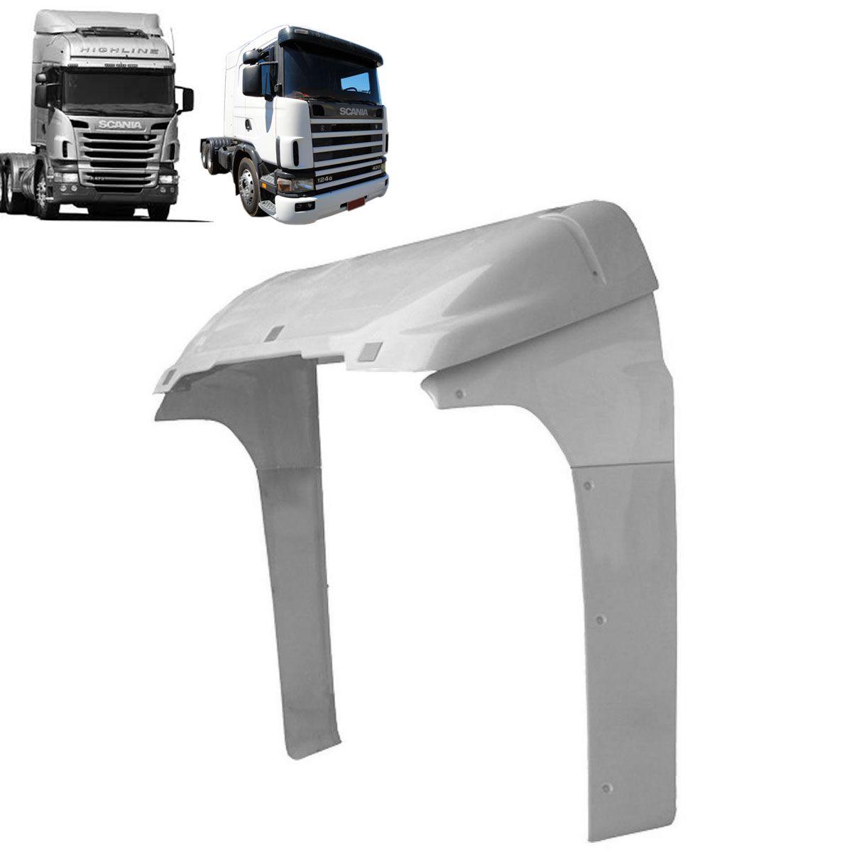 Defletor de Ar Compatível com o Caminhão Scania S4 e S5 Cabine G Sem Filtro