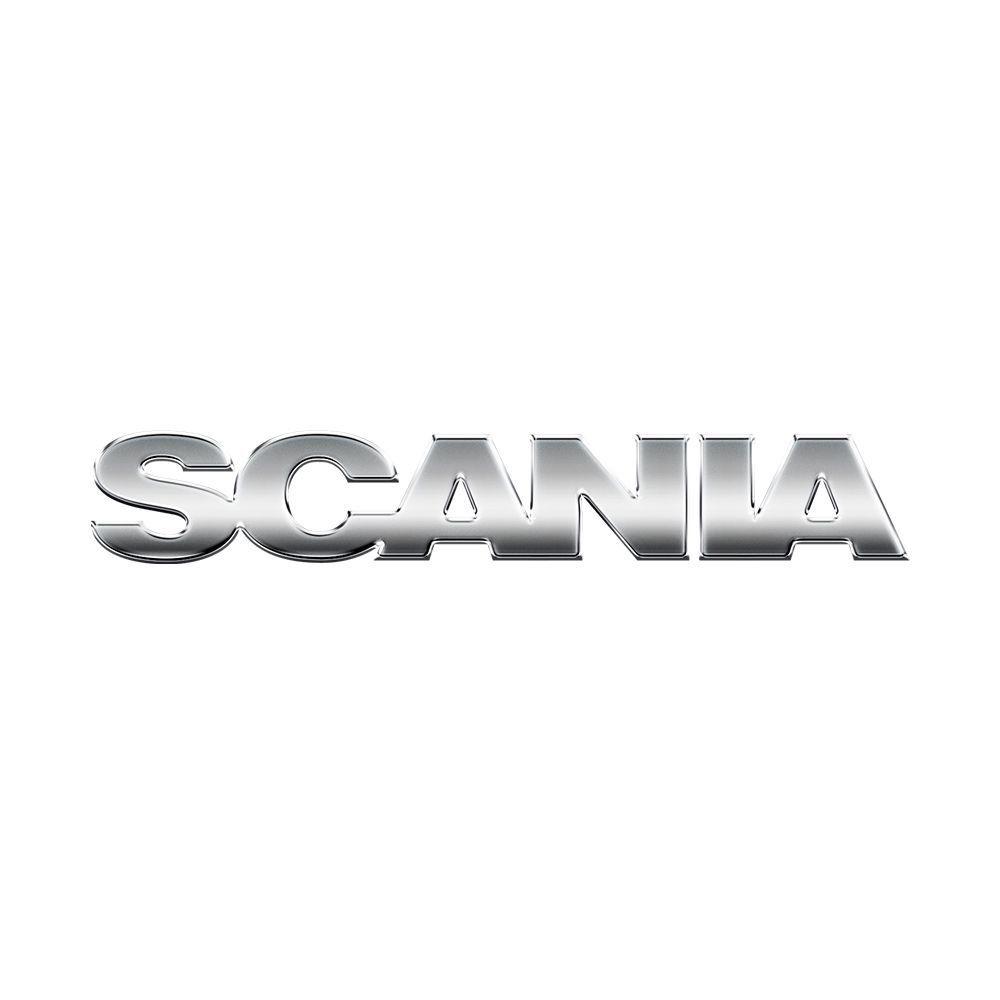 Emblema da Grade Cromado Compatível com o Caminhão Scania P S5 Antigo 1498406