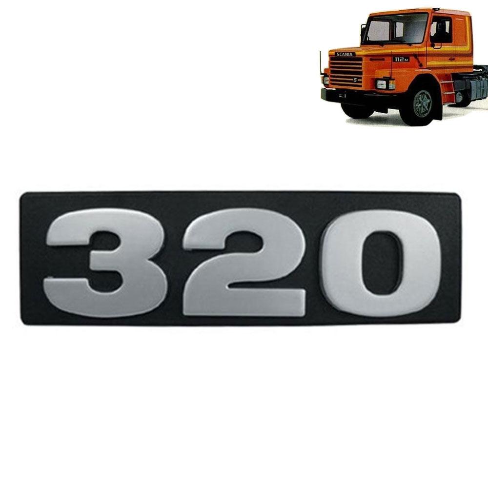 Emblema Frontal 320 para Caminhão Scania 112 / 113