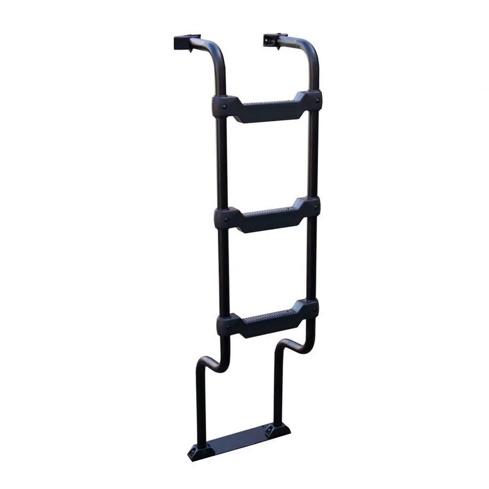 Escada Traseira para caminhão MAN TGX até 2016 Preta
