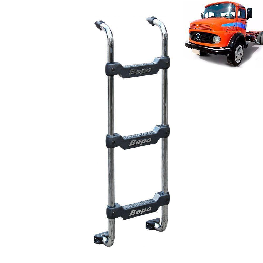 Escada Traseira para caminhão Mercedes-Benz 1113 Cromada