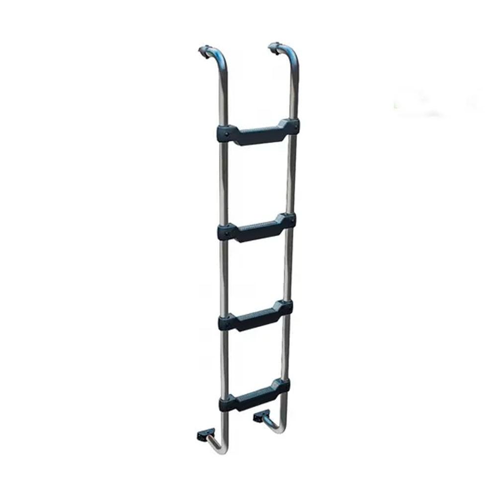 Escada Traseira para caminhão Mercedes-Benz Actros Teto Alto Cromada