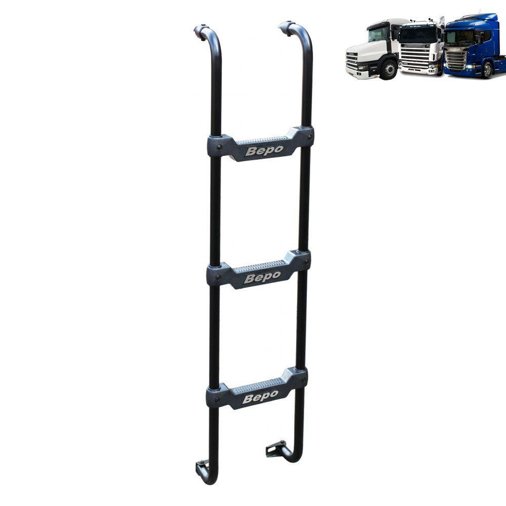 Escada Traseira comptível com o caminhão Scania Cabine G / R / T Cromada