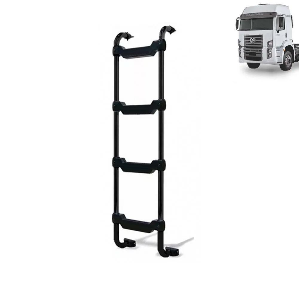 Escada Traseira para caminhão Volkswagen Constellation Cabine Alta Preta