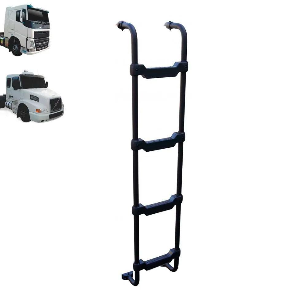 Escada Traseira para caminhão Volvo NH / FH Cabine Baixa Reservatório Climatizador Preta