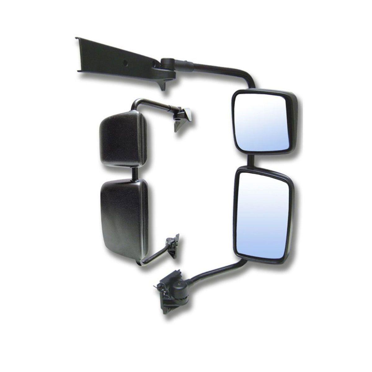 Espelho Completo Lado Direito Volvo VM com Desembaçador 20760960 / 21475605