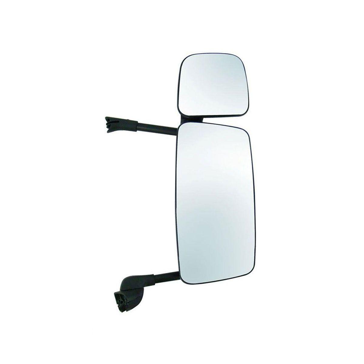 Espelho Completo S5 Economico Lado Direito com Auxilar e com Desembaçador 1484042