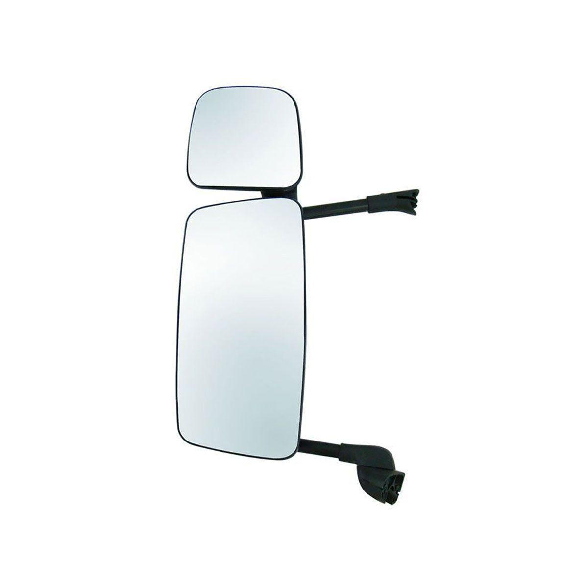 Espelho Completo S5 Economico Lado Esquerdo com Auxilar e com Desembaçador 1484041
