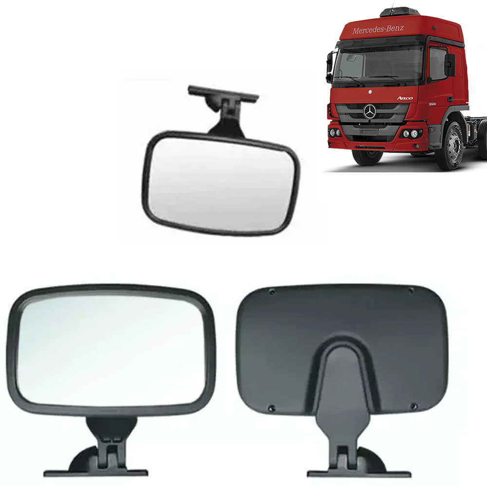 Espelho de rampa lateral para Caminhão Mb Atego Axor