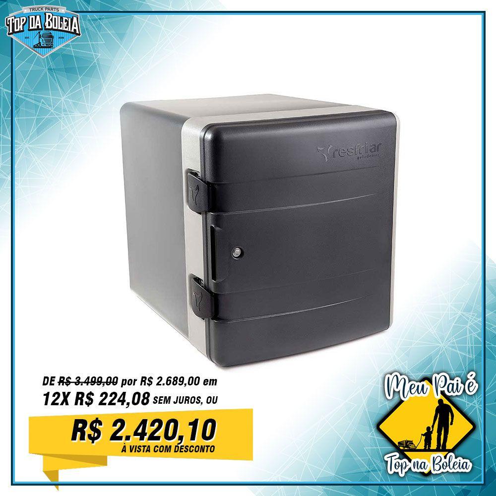 Geladeira para Caminhão Resfriar Completa 67 Litros 12v 24v