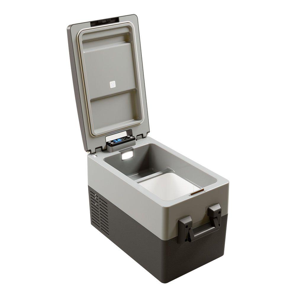 Geladeira Portátil Resfriar 12v 24v 31 Litros Digital