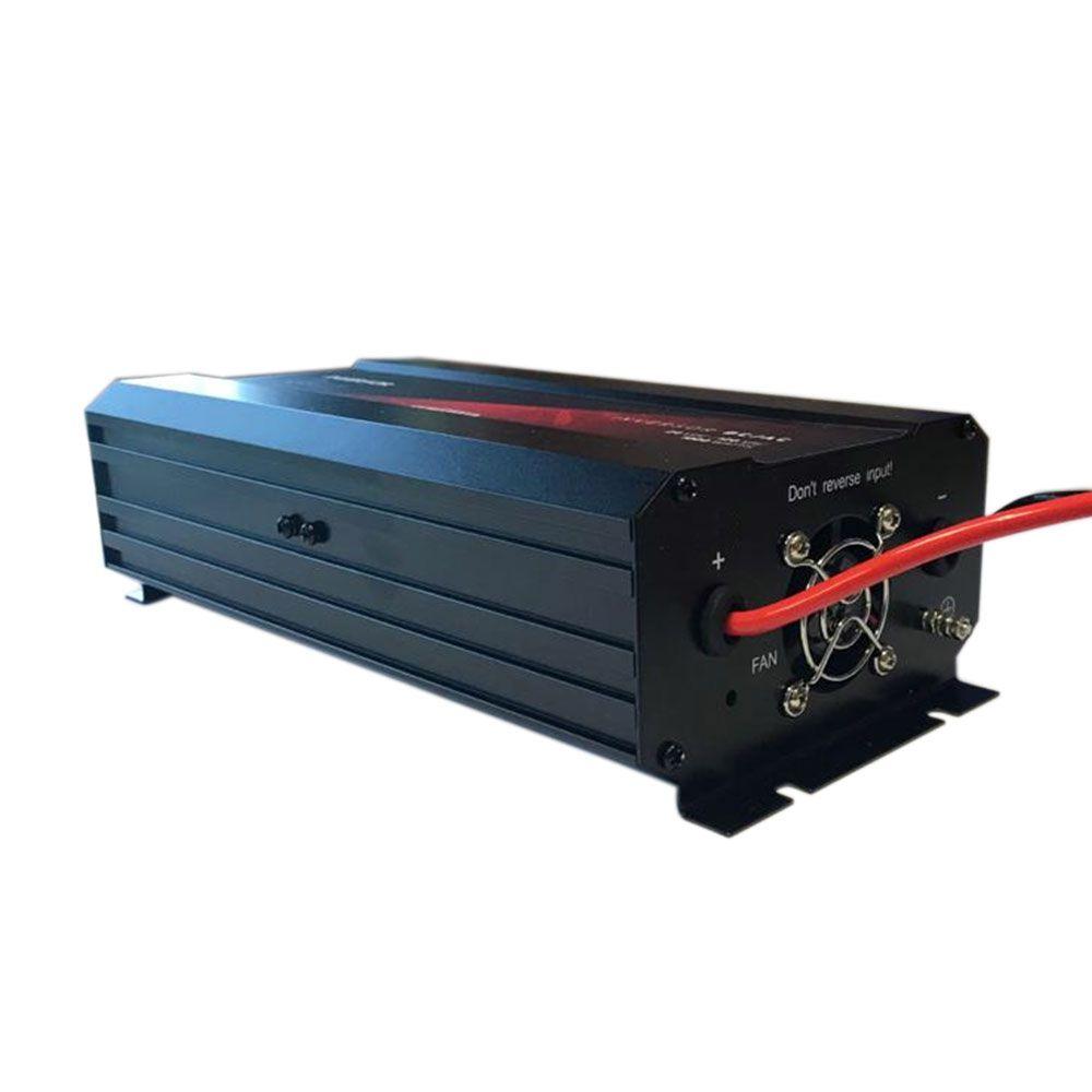 Inversor de Voltagem 24V para 220V 600W Caminhão