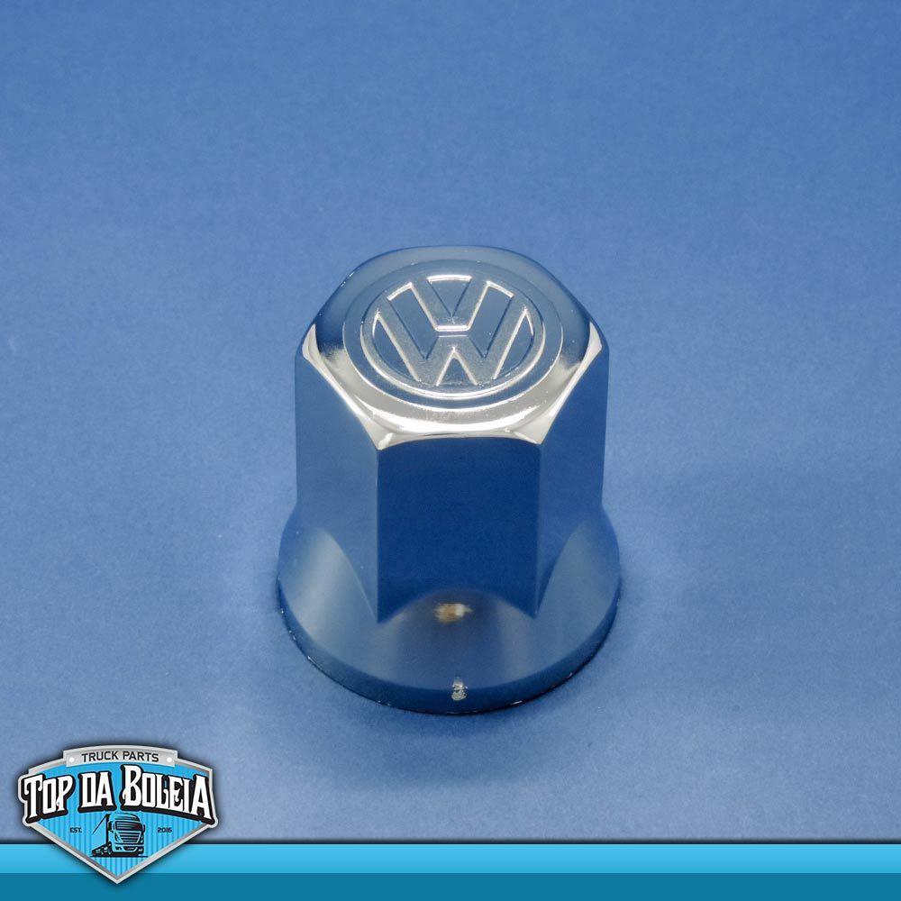Jogo 20 Unidades de Capas de Porca Cromadas Volkswagen 33 mm