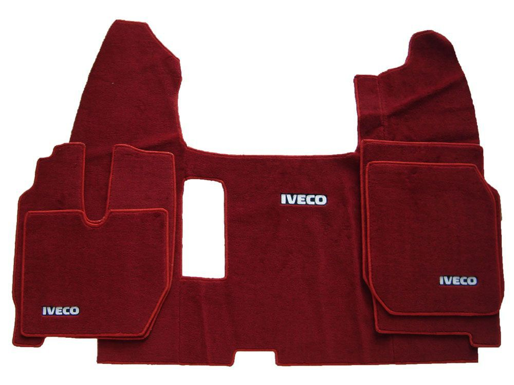 Jogo de tapetes para caminhão Iveco  Carpete Luxo