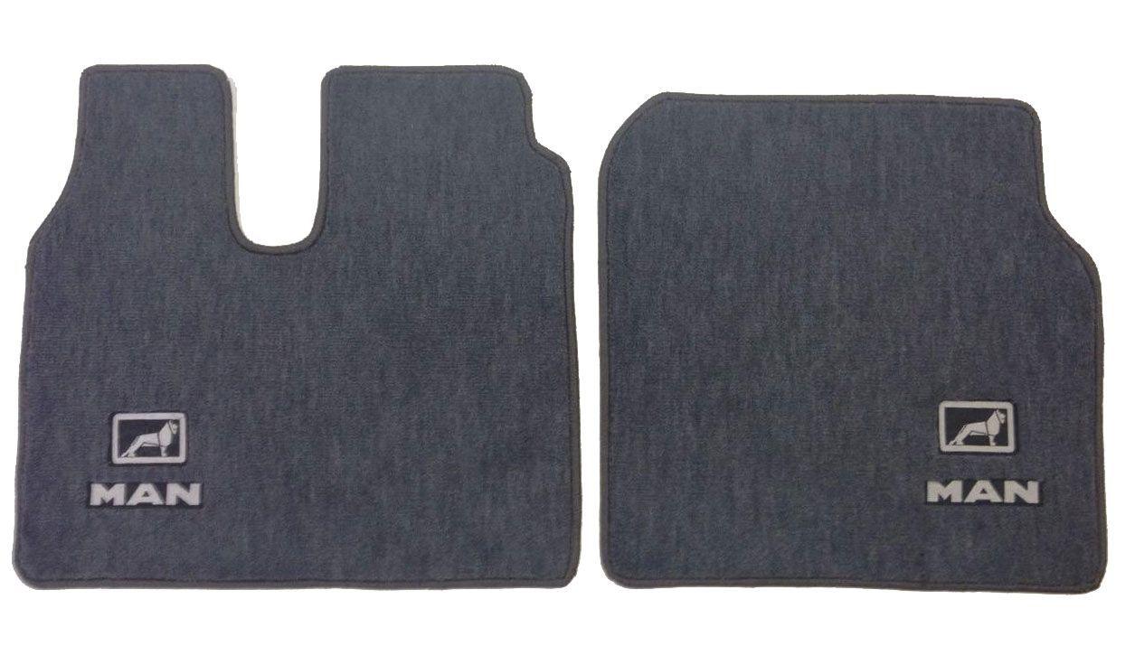 Jogo de tapetes para caminhão MAN Carpete Luxo