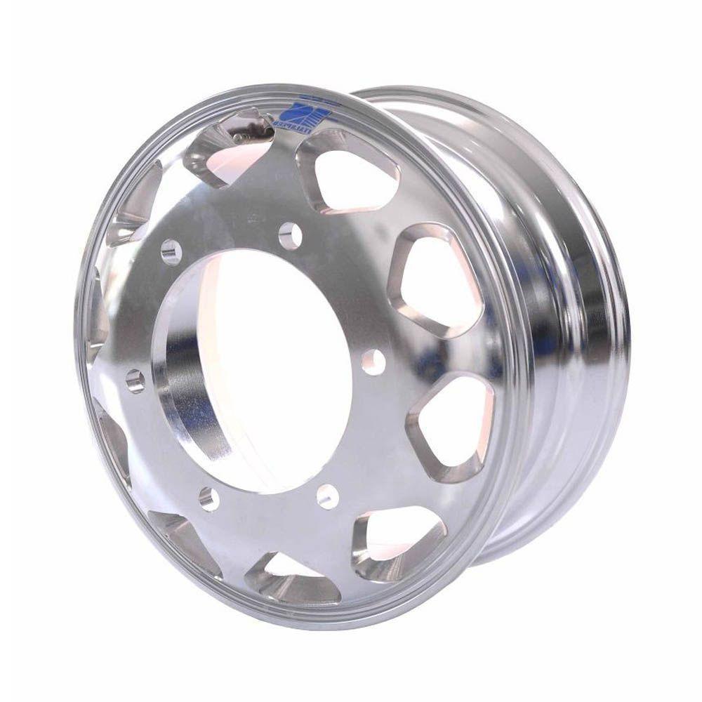 Kit 4 Rodas de Alumínio Caminhão Accelo 1016 1316
