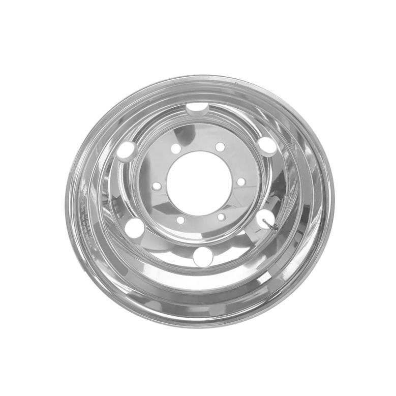 Kit 6 Rodas de Alumínio Caminhão 3/4 17,5 x 6 Furos Redondo