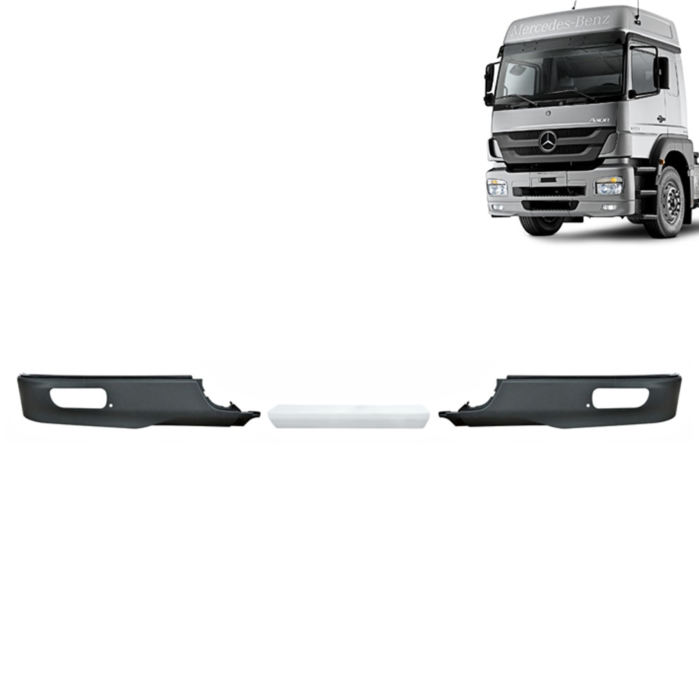 Kit Acabamento Spoiler Inferior Para-Choque Dianteiro para Caminhão Mb Axor