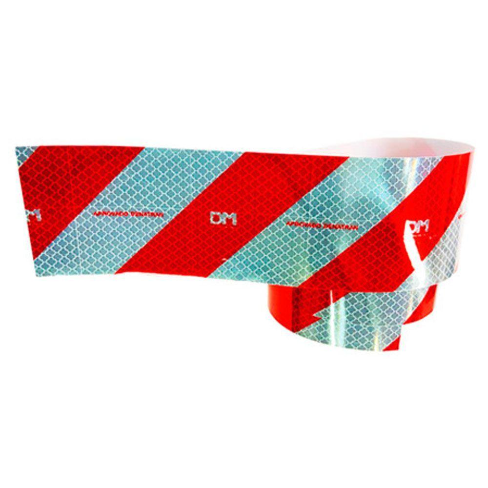 Kit Completo Faixas Refletivas DM Caminhão Para-choque 30 Laterais