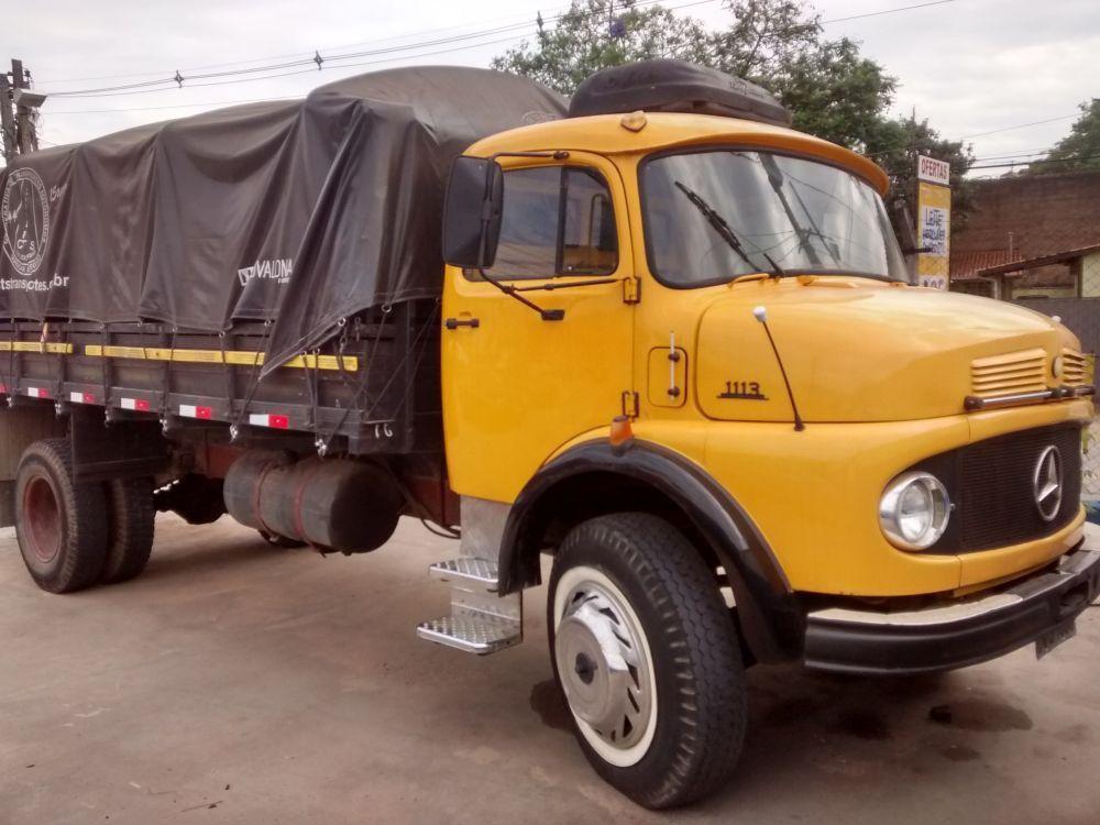 Kit estribo Cromado completo Caminhão MB 1113  MB 1114 MB 2013