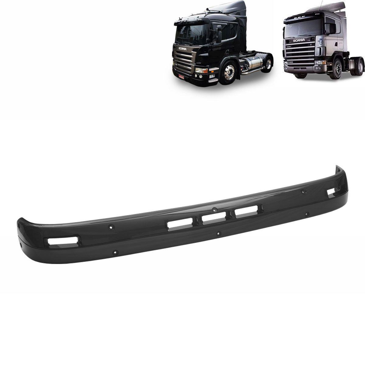 Kit Lâmina Tapa-Sol Acrílico Três Marias compatível com o Caminhão Scania T/R Série 4 Série 5 + Sinaleiras