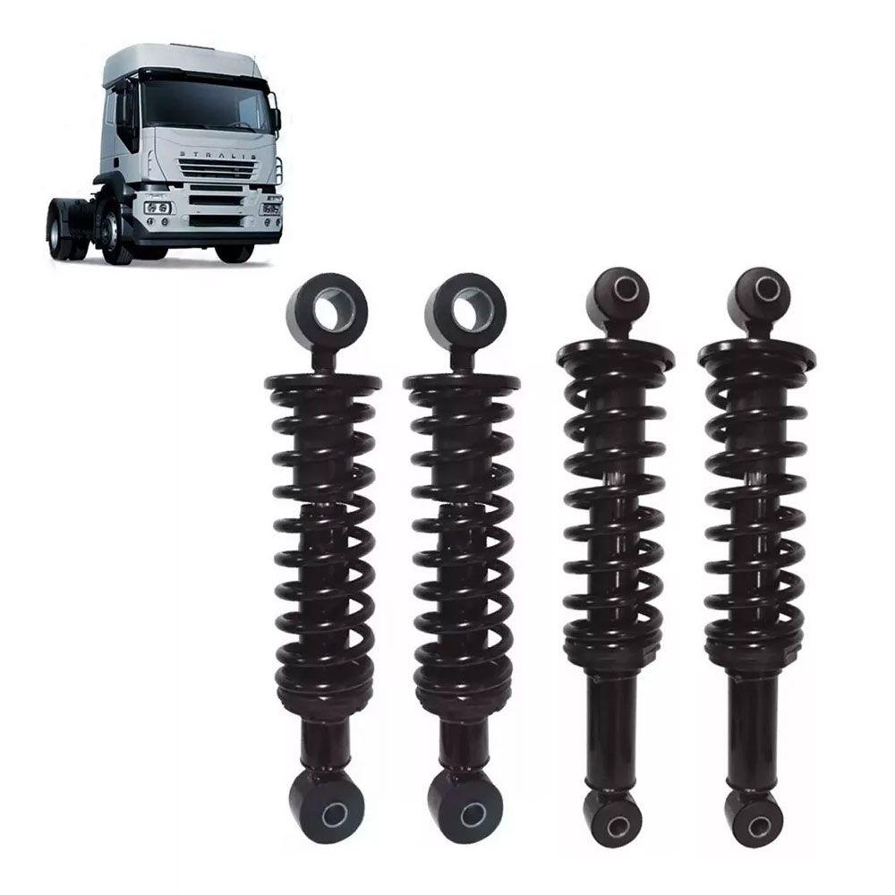Kit molas da Cabine dianteira e traseira para Iveco Stralis 504115380 - 500387621