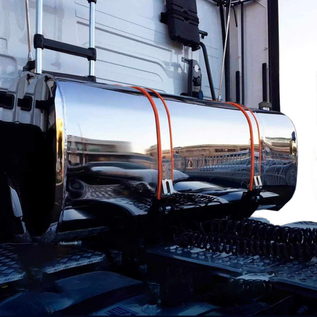 Kit Tanque Combustível Oval Inox Plataforma 600 Litros