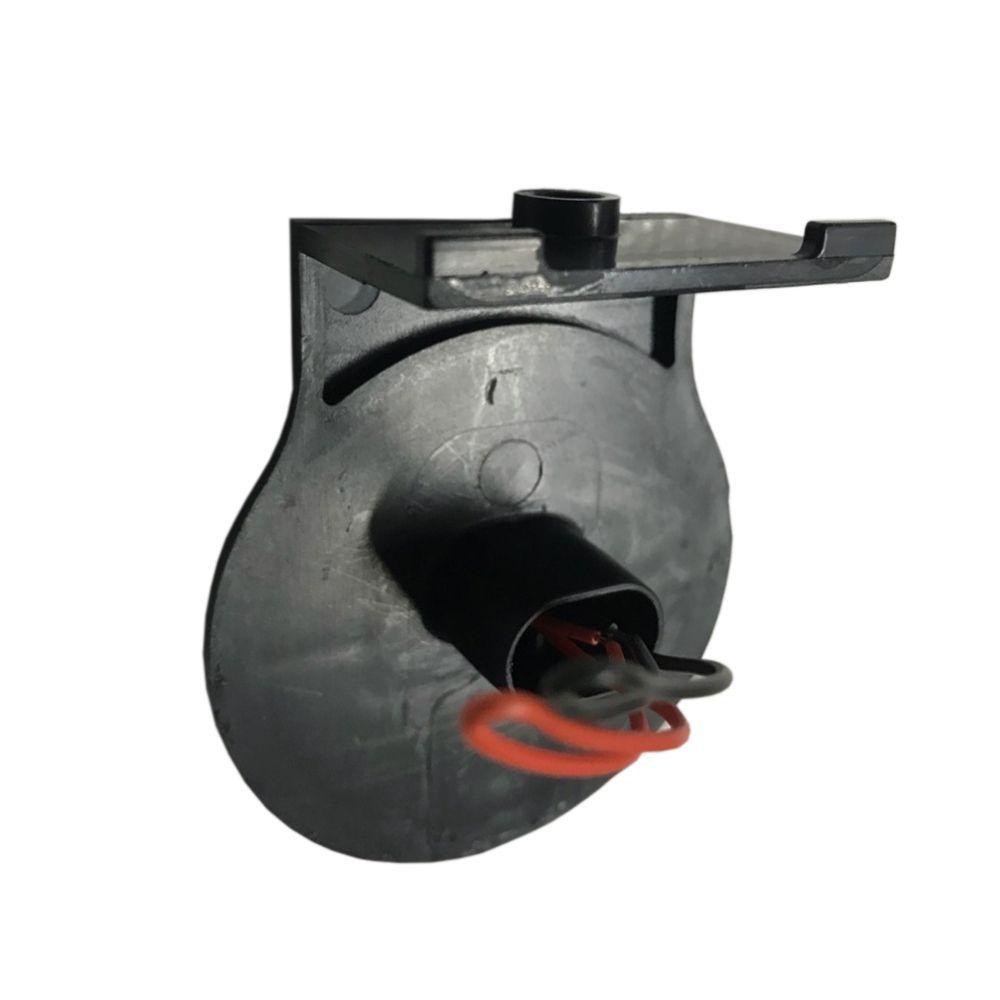 Lanterna lateral de led Branca Carreta 65 mm 12V 24V com fio 12 unidades