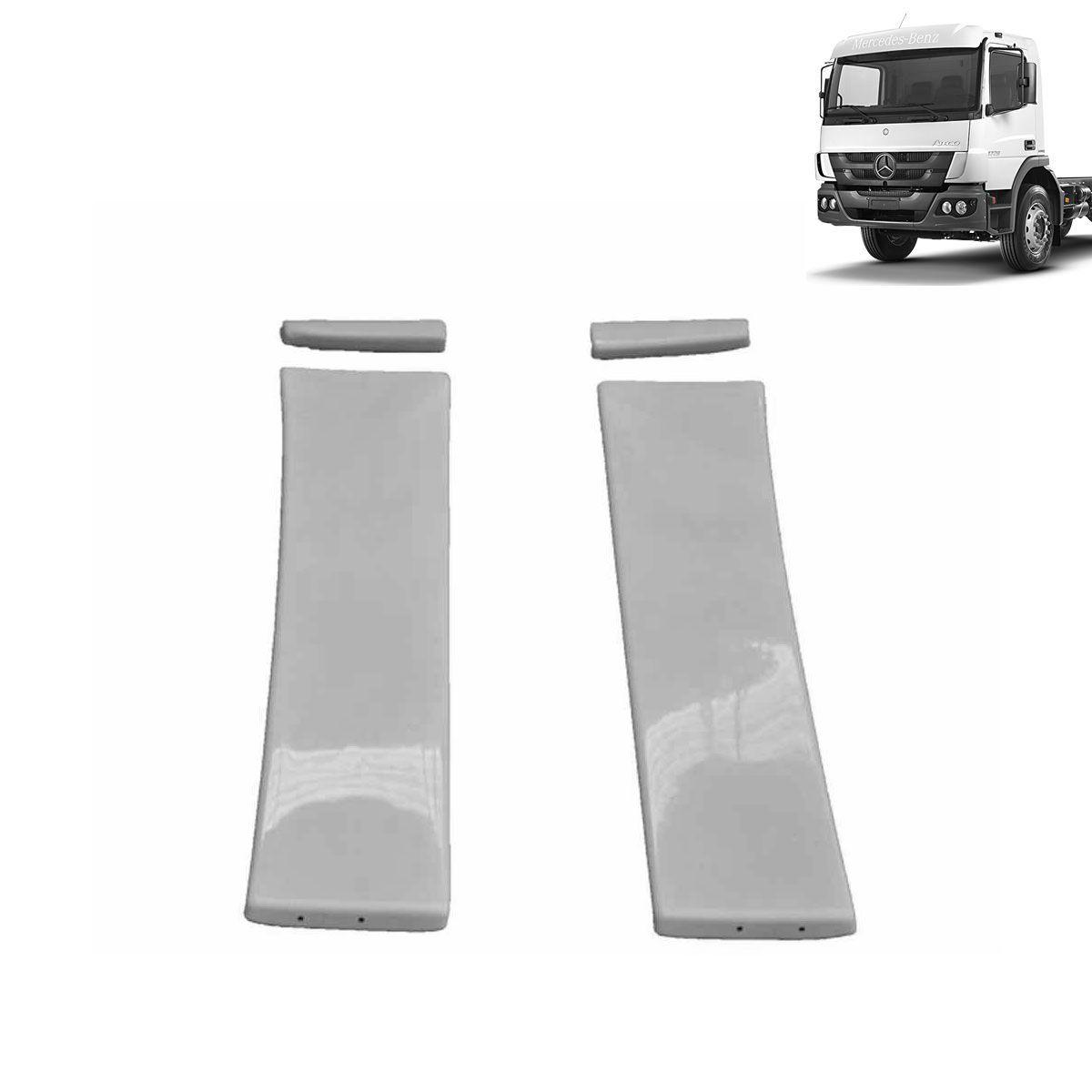 Laterais Cegonheiro para Mercedes Benz Atego Cabine Simples Bolha