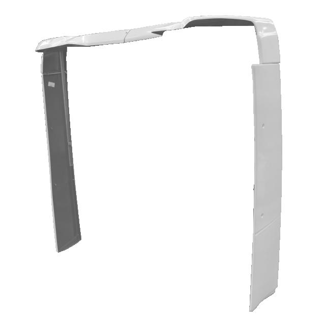 Lateral do Cegonheiro para Volvo FH Cabine Baixa á partir de 2015