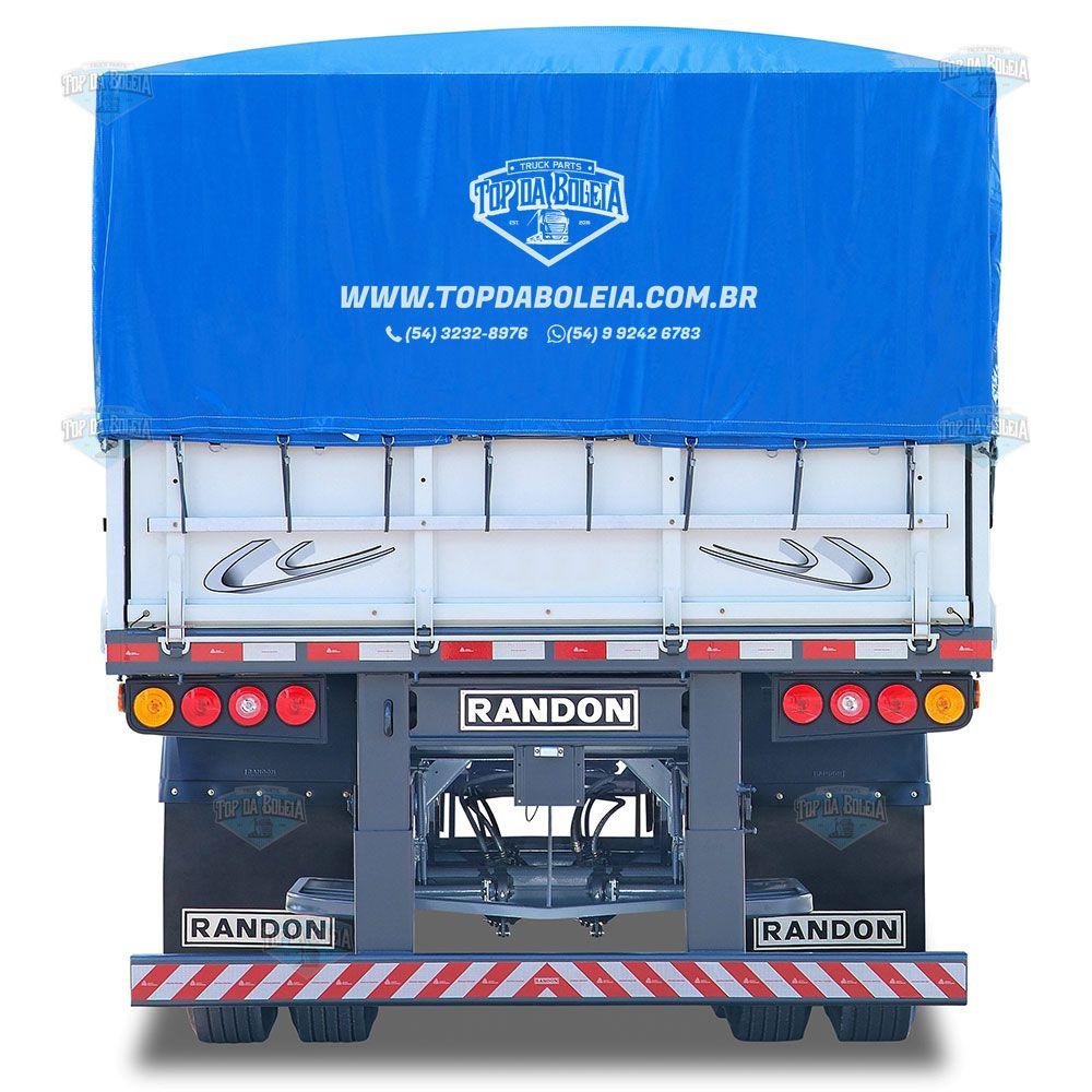 Lona Para Caminhão Carreta 2 Eixos 12x4,5 Metros