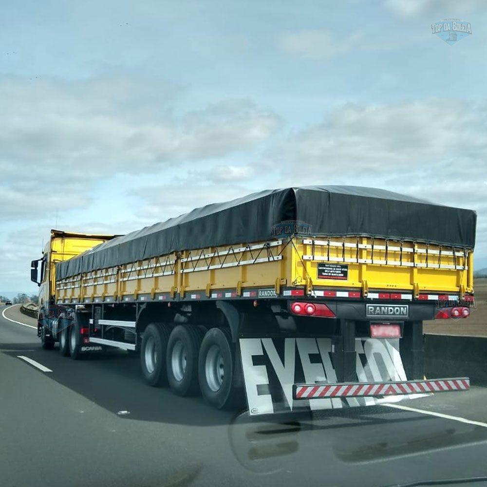 Lona Para Caminhão Carreta 3 Eixos 14x3,5
