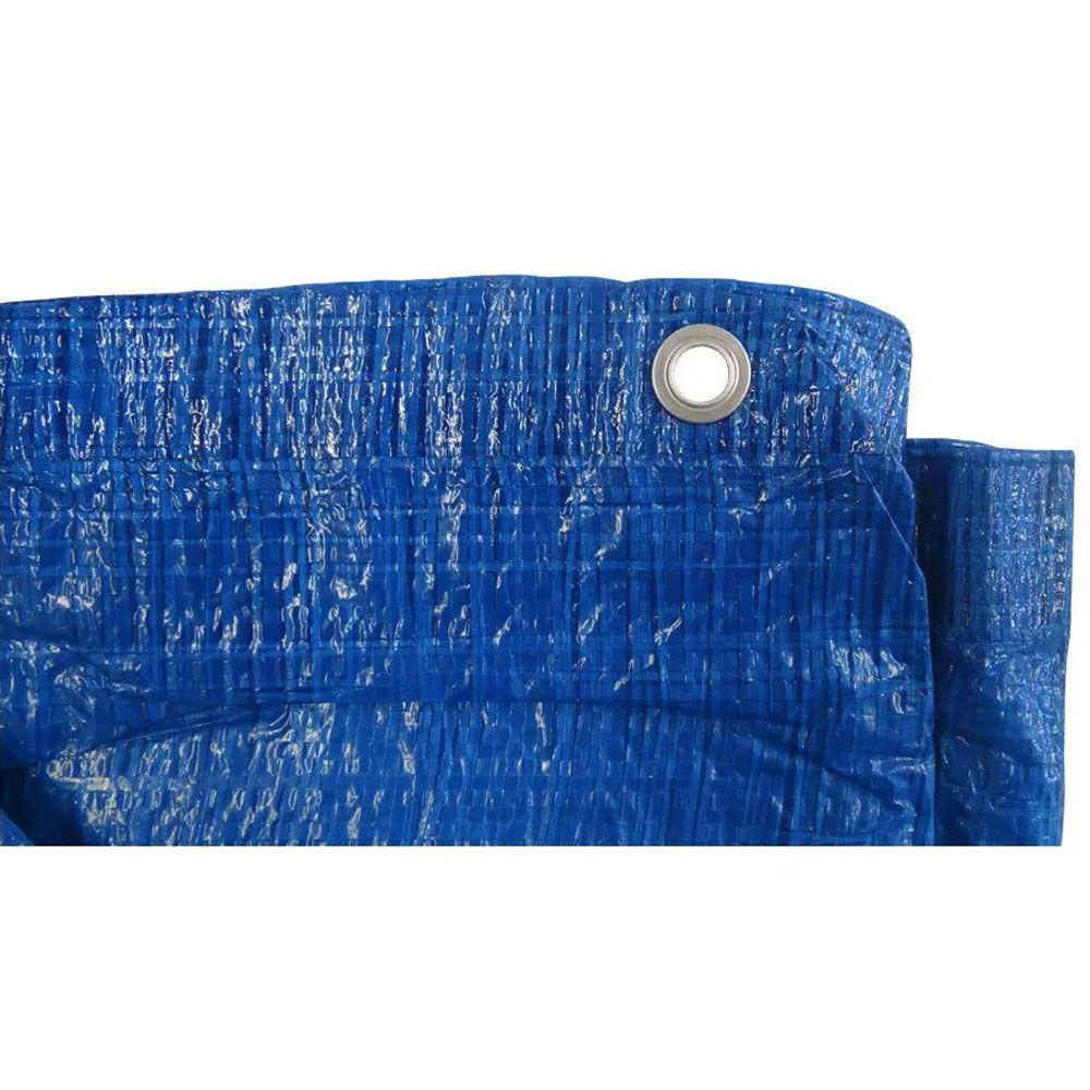 Lona Plástica (PE) 10,00 X 5,00 - 120 GRAMAS/M²