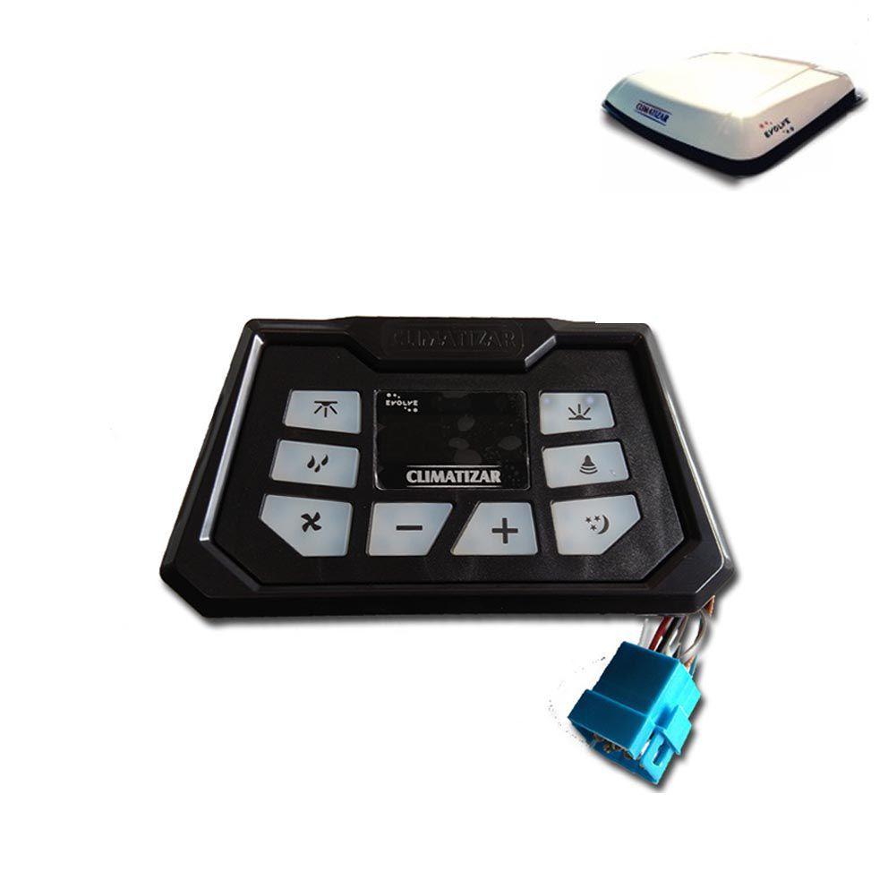 Microprocessador Controlador Eletrônico Climatizador Climatizar Evolve Digital 12v 24v