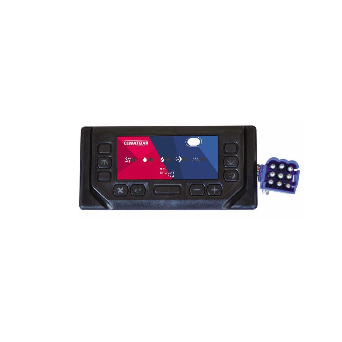 Microprocessador / Controlador Eletrônico para Climatizador de Ar Climatizar Evolve 12v 24v