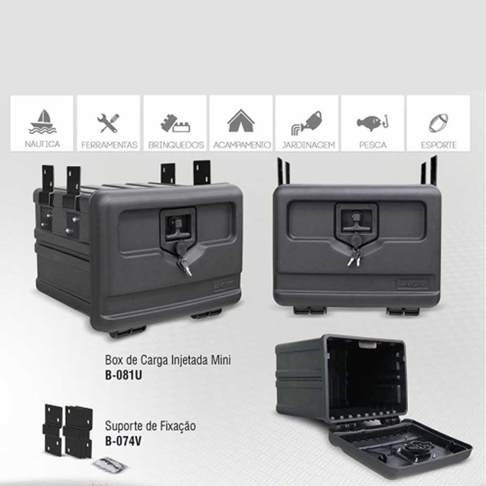 Mini Caixa de Ferramentas Bepo Caminhão com Suportes 38x48x44