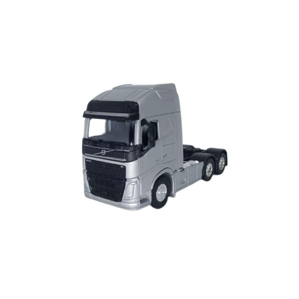 Miniatura Caminhão New Volvo Fh 500 Trucado 6x2 Escala 1:64