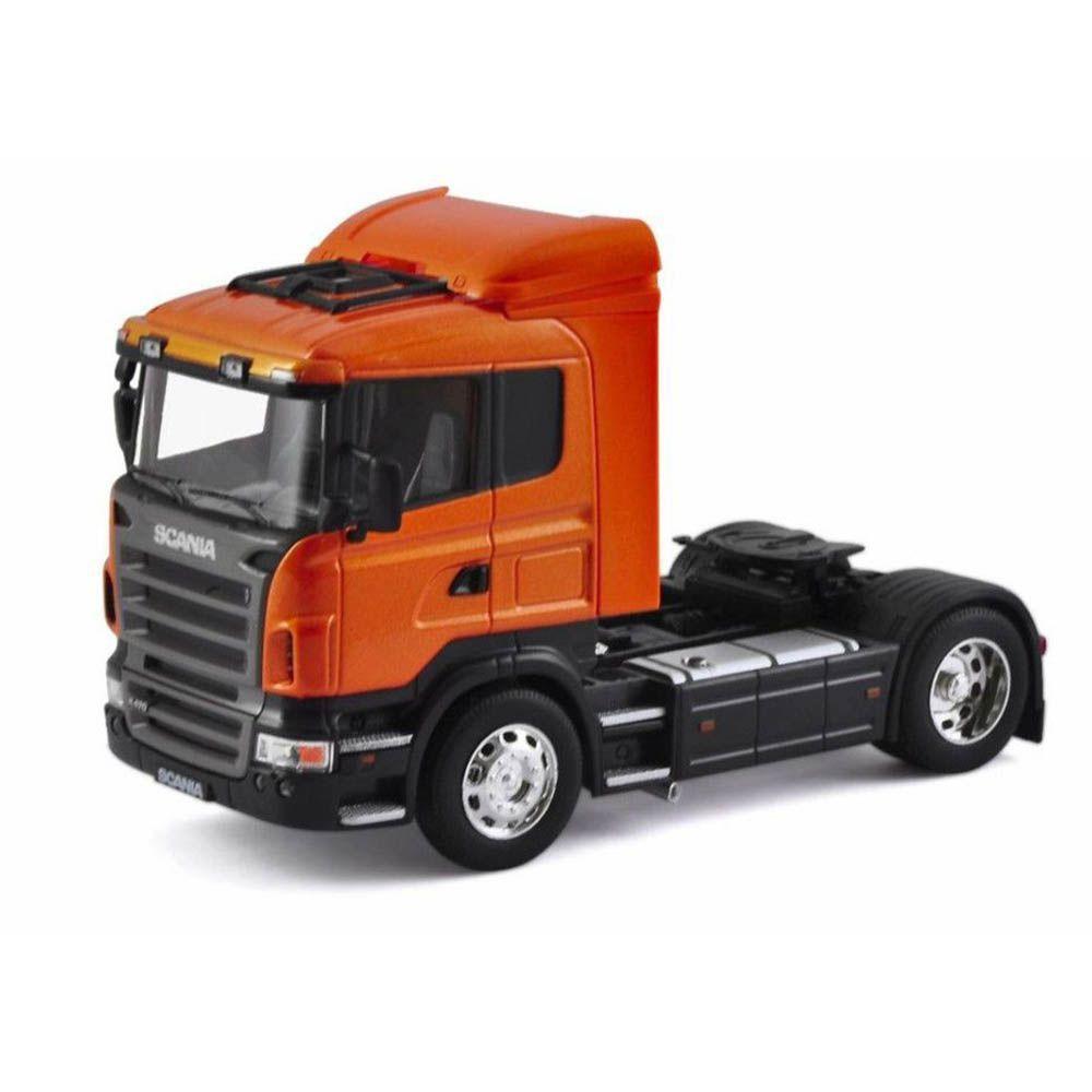 Miniatura Caminhão Scania R470 Toco 4X2 Escala 1-32